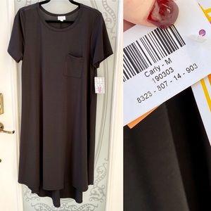 NEW! LuLaRoe Carly Black High-Low Swing Dress